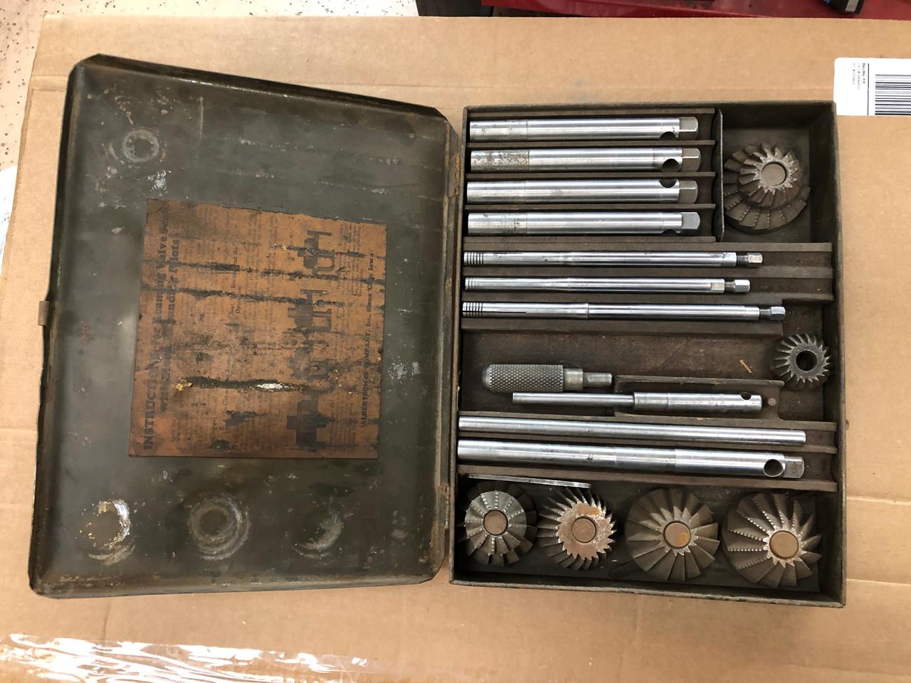 Vintage Sioux Valve Seat Cutter Set
