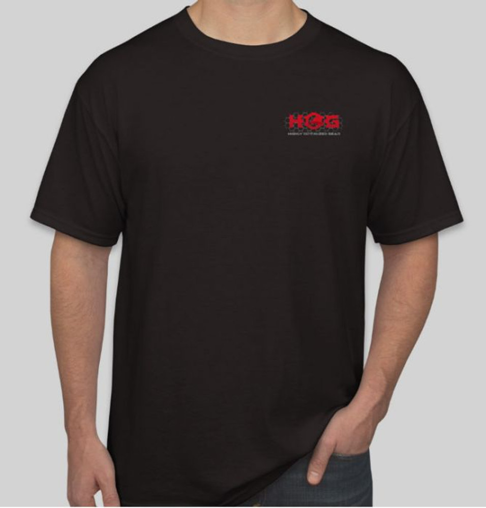 Hog Gear Logo T Shirt Black
