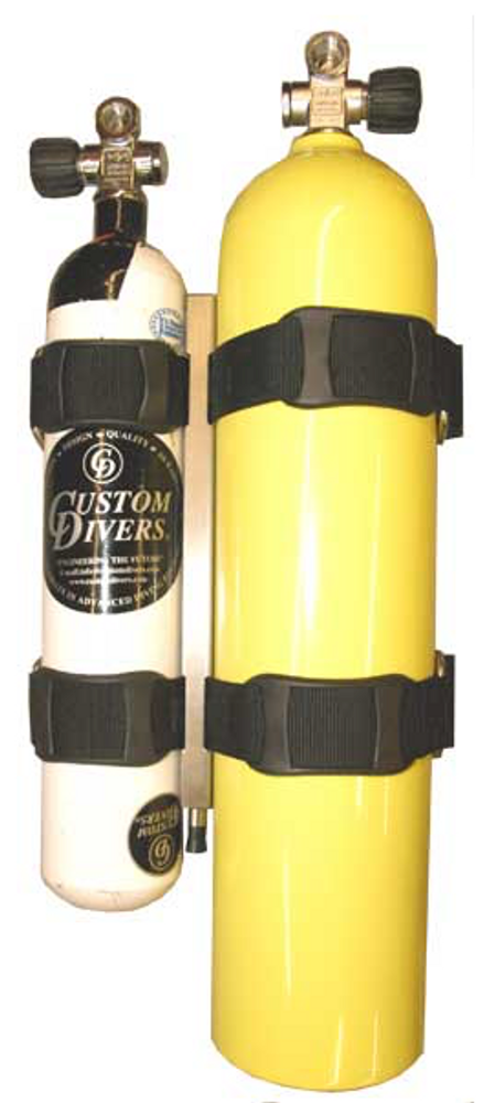 CUSTOM DIVERS CYLINDER/WING QUICK RELEASE COUPLINGS