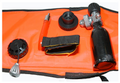 CUSTOM DIVERS SEEKER - RADAR DETECTABLE SURFACE MARKER BUOY (Flow Orange)