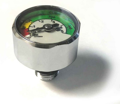 HOG 1 Inch Mini Dual Scale Gauge