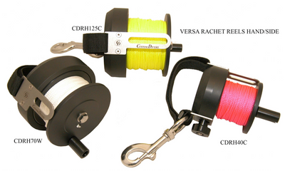 CUSTOM DIVERS 125 MTR RATCHET REEL