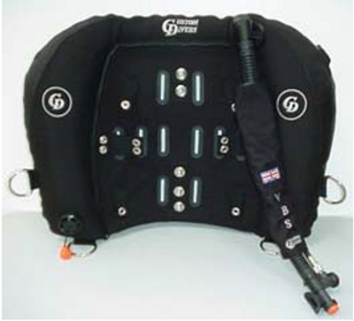 CUSTOM DIVERS VARIABLE BUOYANCY SYSTEM (VBS) WINGS ONLY