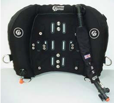 CUSTOM DIVERS VARIABLE BUOYANCY SYSTEM WINGS