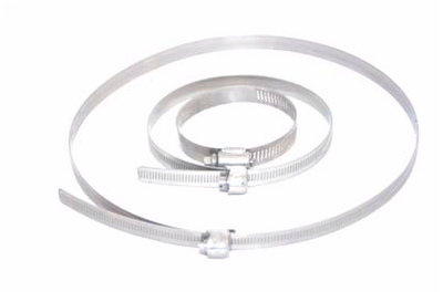 STAINLESS STEEL BAND ONLY (JUBILEE CLIPS)