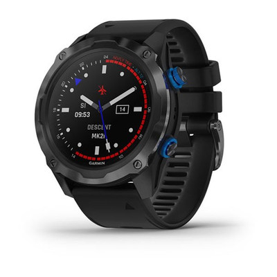 Garmin Descent™ Mk2i Titanium Carbon Grey DLC with Black Band