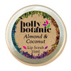 Almond & Coconut Closed | Lip Scrub | Holly Botanic