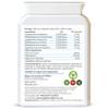 Probiotic Gold Capsules | 20 Billion CFU | Rear Label