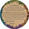 Peppermint & Pine Lip Balm   Back label and ingredients list   Holly Botanic