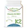 Vitamin K2 Capsules | MK7 Menaquinone | The Purest Form of Vitamin K