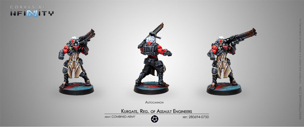 KURGATS, REG. OF ASSAULT ENGINEERS (AUTOCANNON)