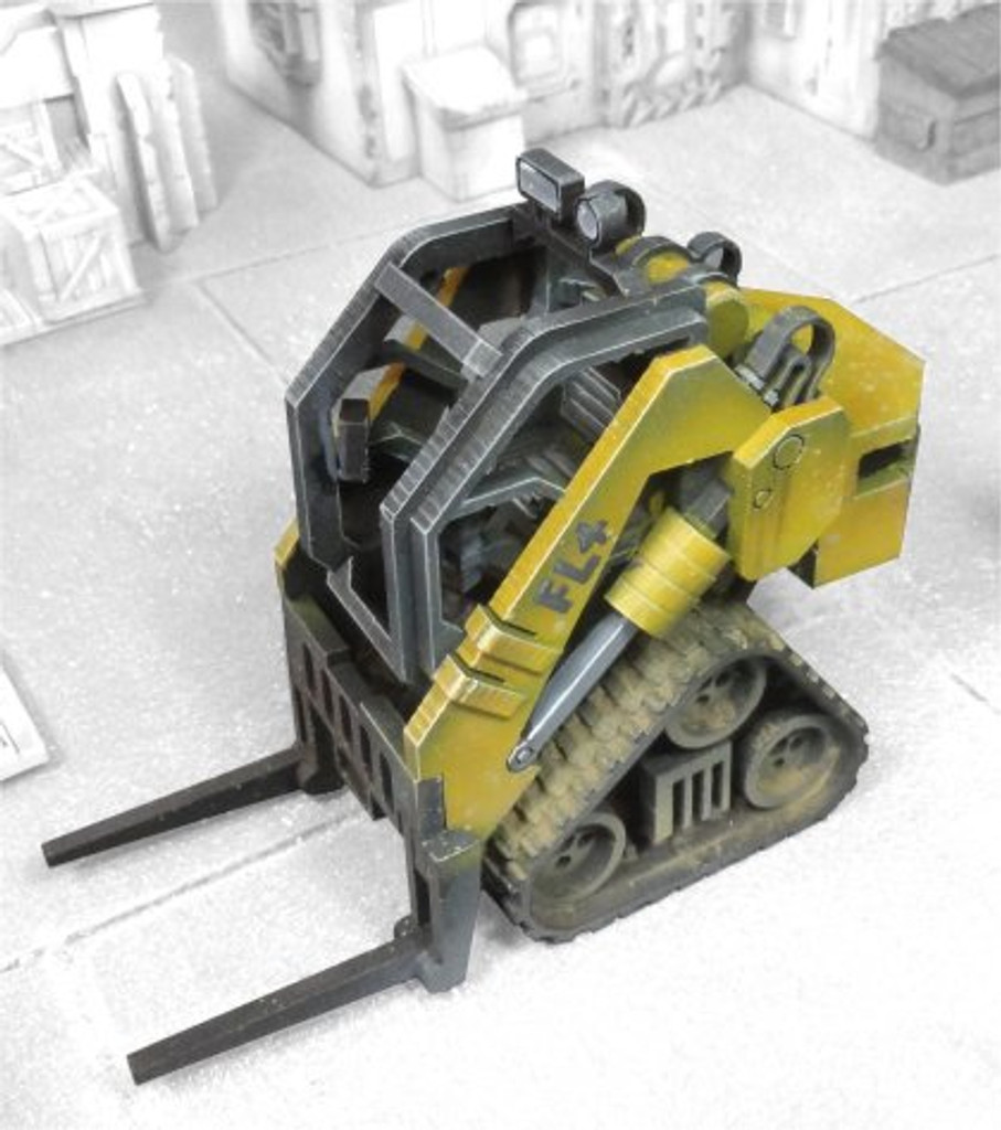 Heavy Industrial Forklift