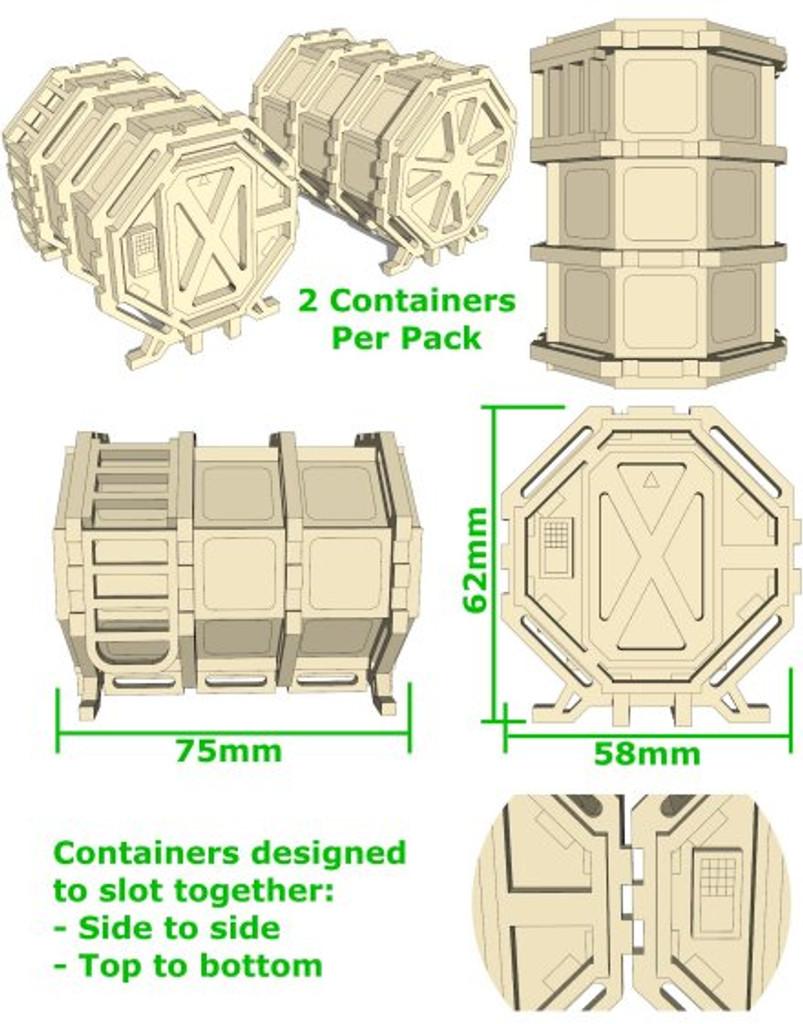 Sci-Fi Container 1