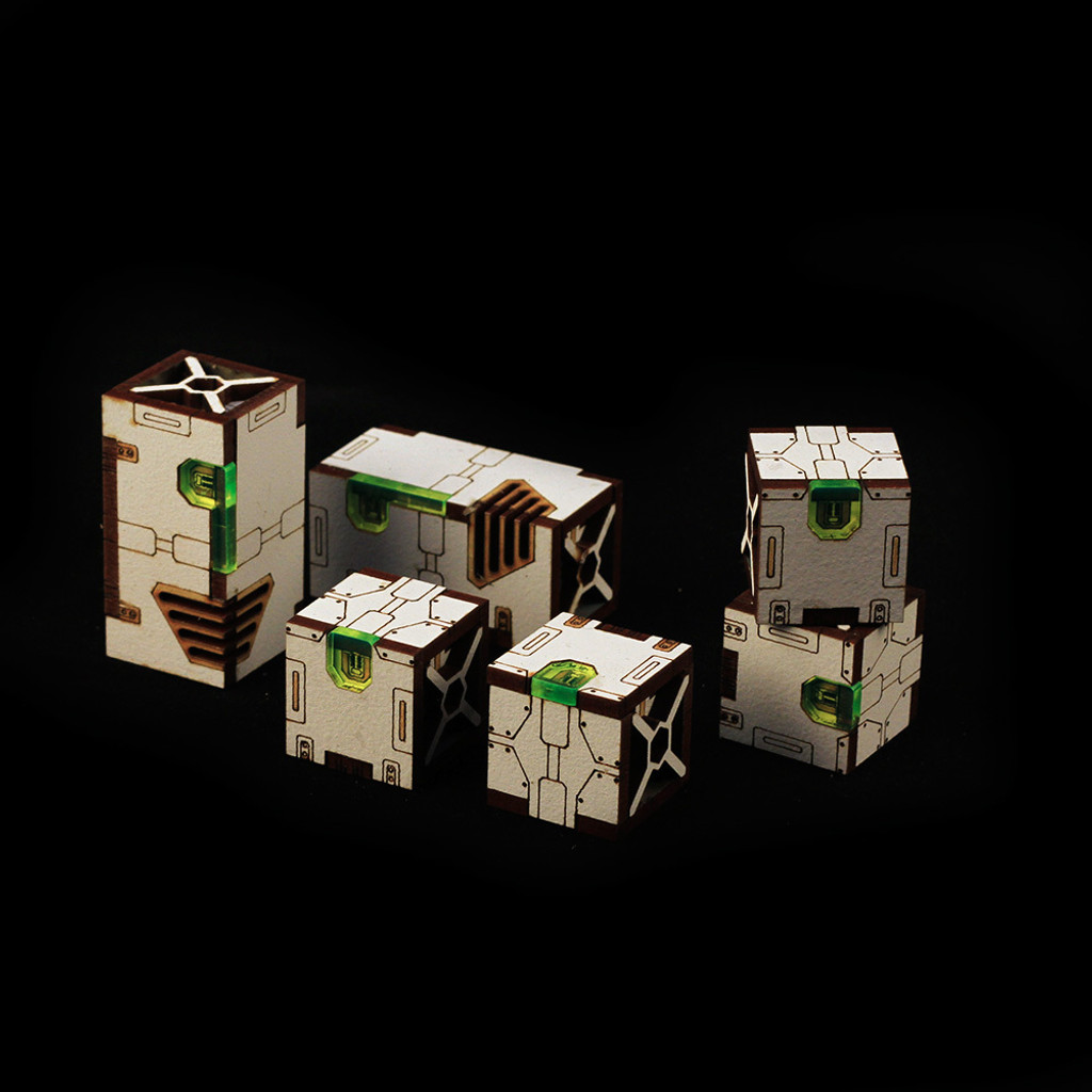 Battle Kiwi - Cargo Boxes