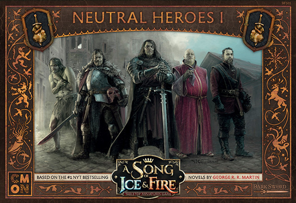 A Song of Ice and Fire Neutral Heroes 1