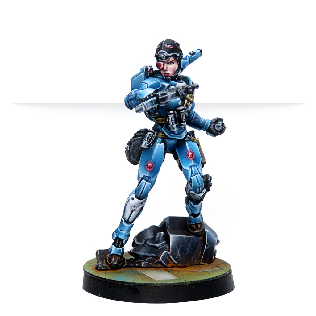 Patsy Garnett, Orc Troops Varuna Div. NCO (Submachine Gun).
