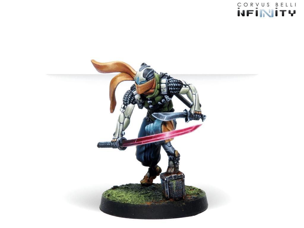 Saito Togan - Mercenary Ninja (Combi Rifle)