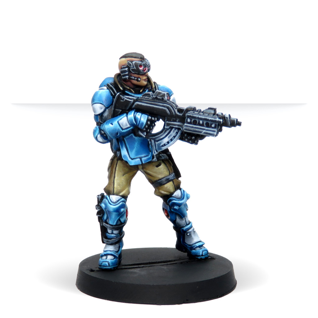 Model Colour Set: Infinity Panoceania  with Exclusive Miniature
