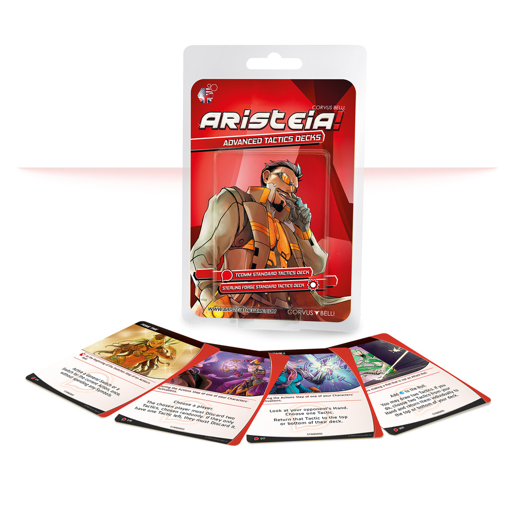 Aristeia! - Aristeia Advanced Tactics Decks
