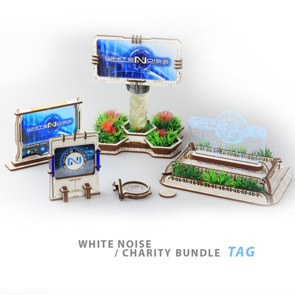 White Noise Charity bundles by Battle Kiwi