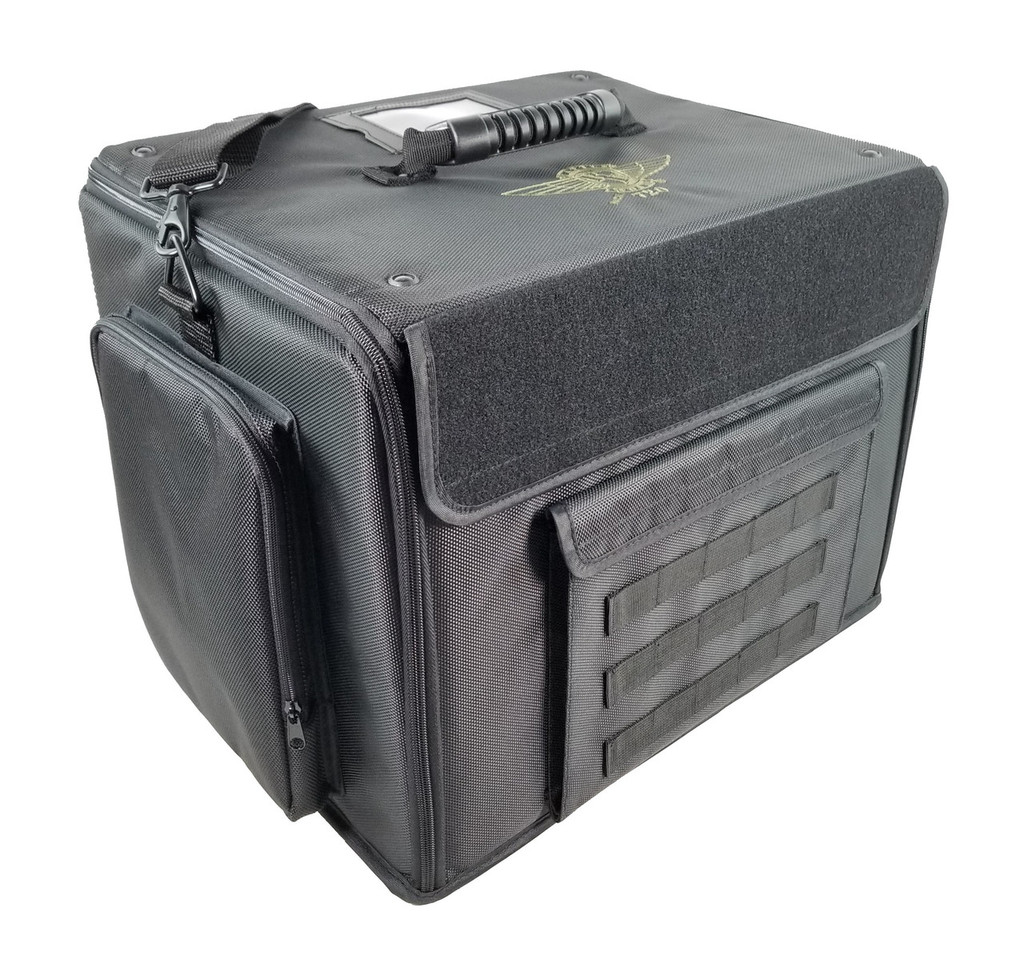 P.A.C.K. 720 Molle with Magna Rack Sliders Load Out (Black)