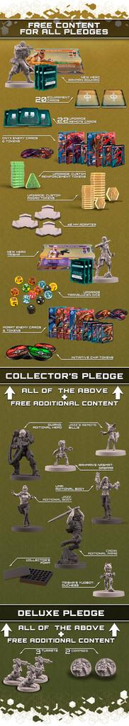 Defiance by Corvus Belli - Platinum Pledge (Limited quantities!!!)