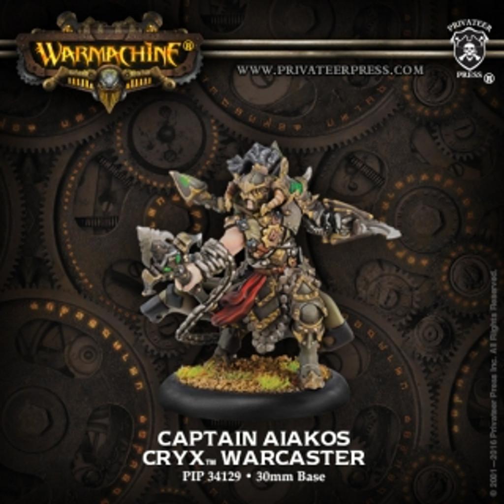 Cryx Captain Aiakos