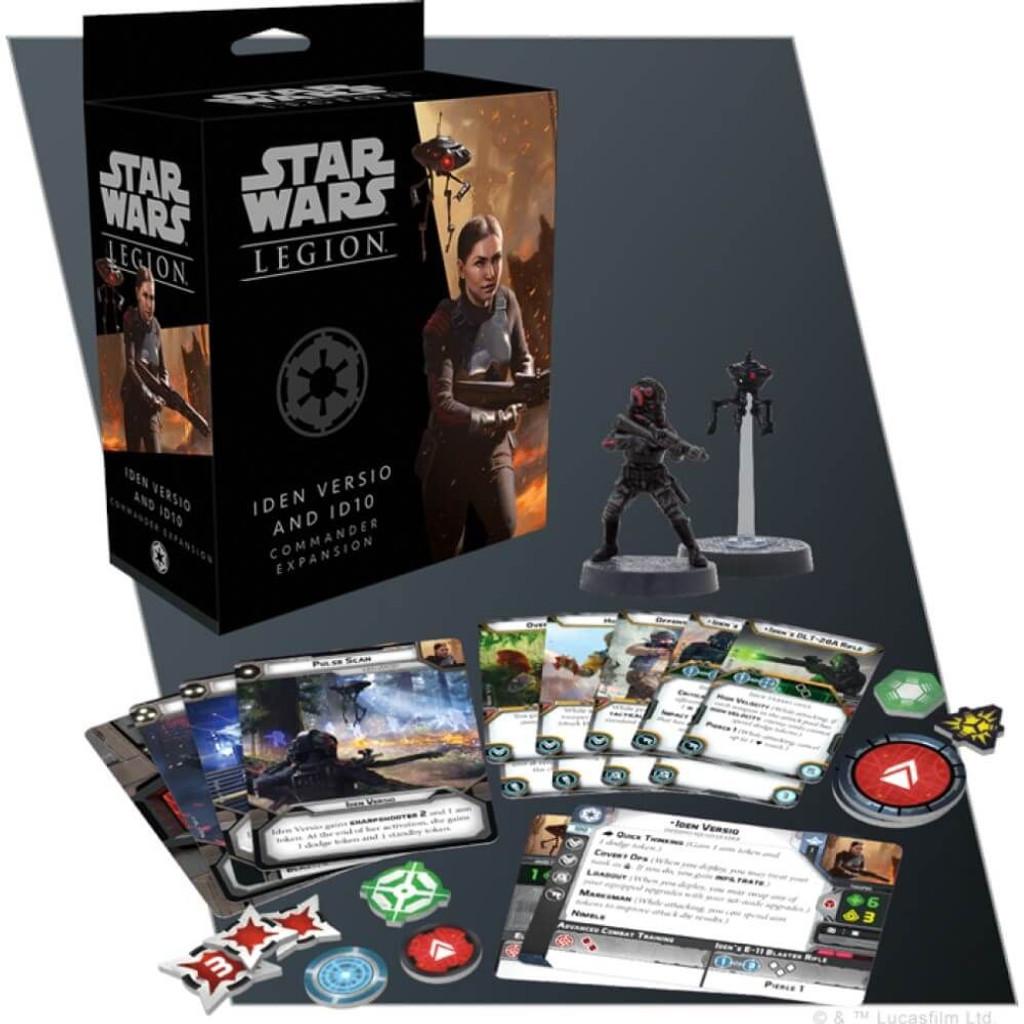 Star Wars Legion Iden Veriso and ID10 Commander Expansion