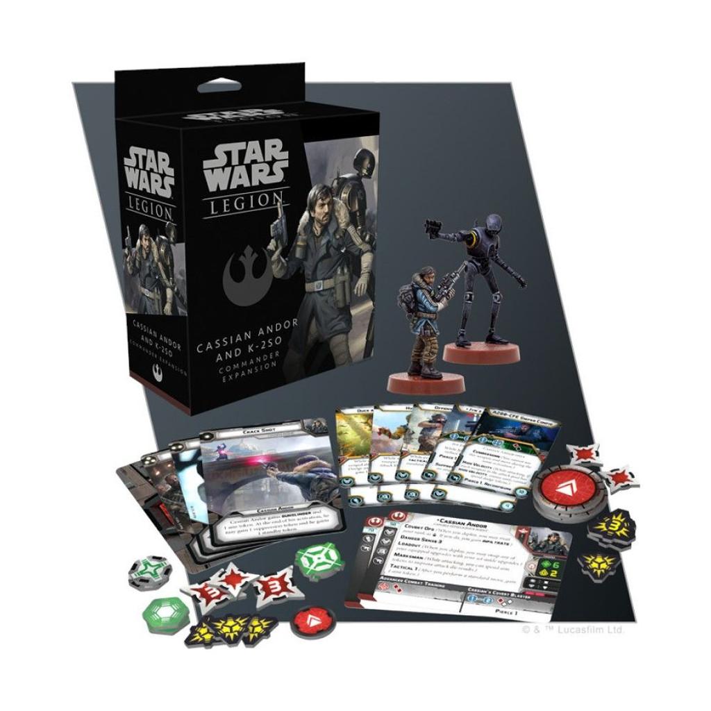 Star Wars Legion Cassian Andor and K-2SO Commander Expansion