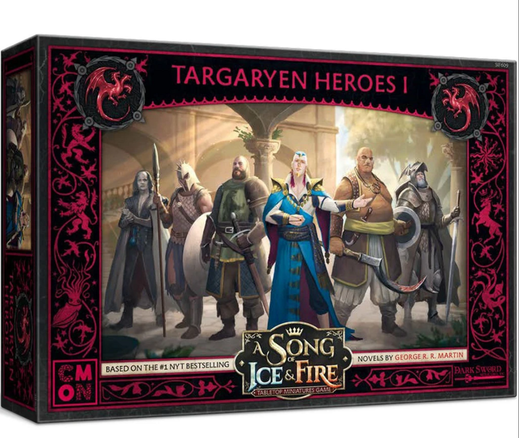 A Song of Ice and Fire TMG - Targaryen Heroes # 1