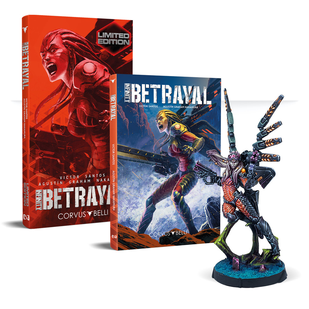 Infinity Betrayal with Limited Edition Ko Dali