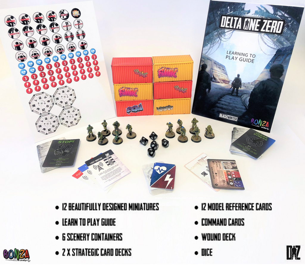 Delta One Zero - Black Winter Starter Set