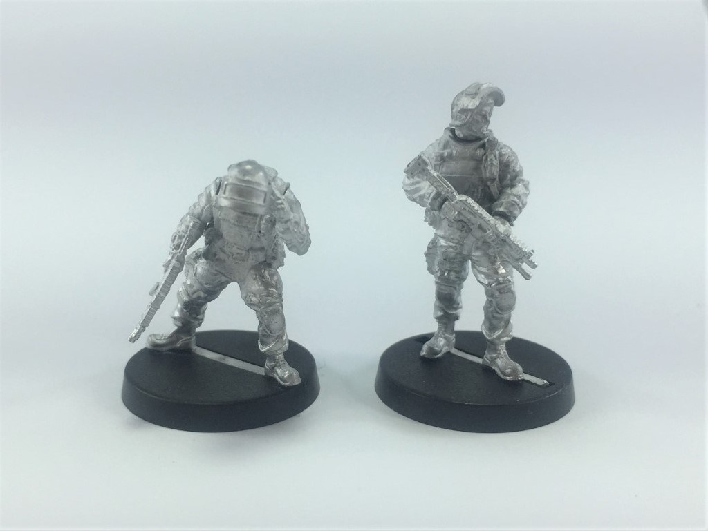 Delta One Zero - Spetsnaz Command and Trooper - Alpha