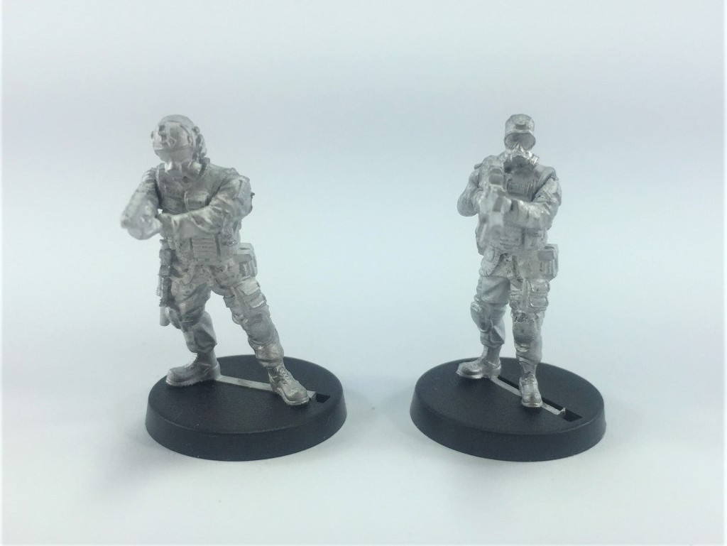 Delta One Zero - SAS Command and Trooper - Bravo