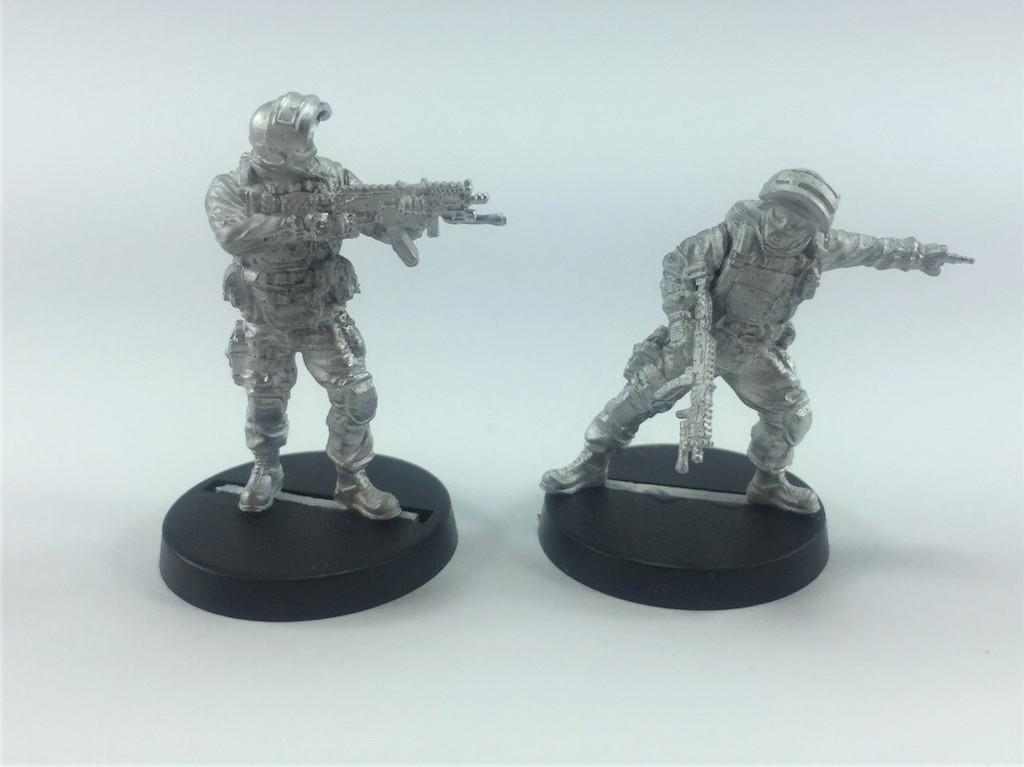 Delta One Zero - Spetsnaz Command and Trooper - Bravo