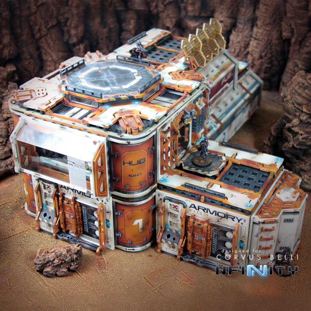 Cosmica Jurisdictional Control Building