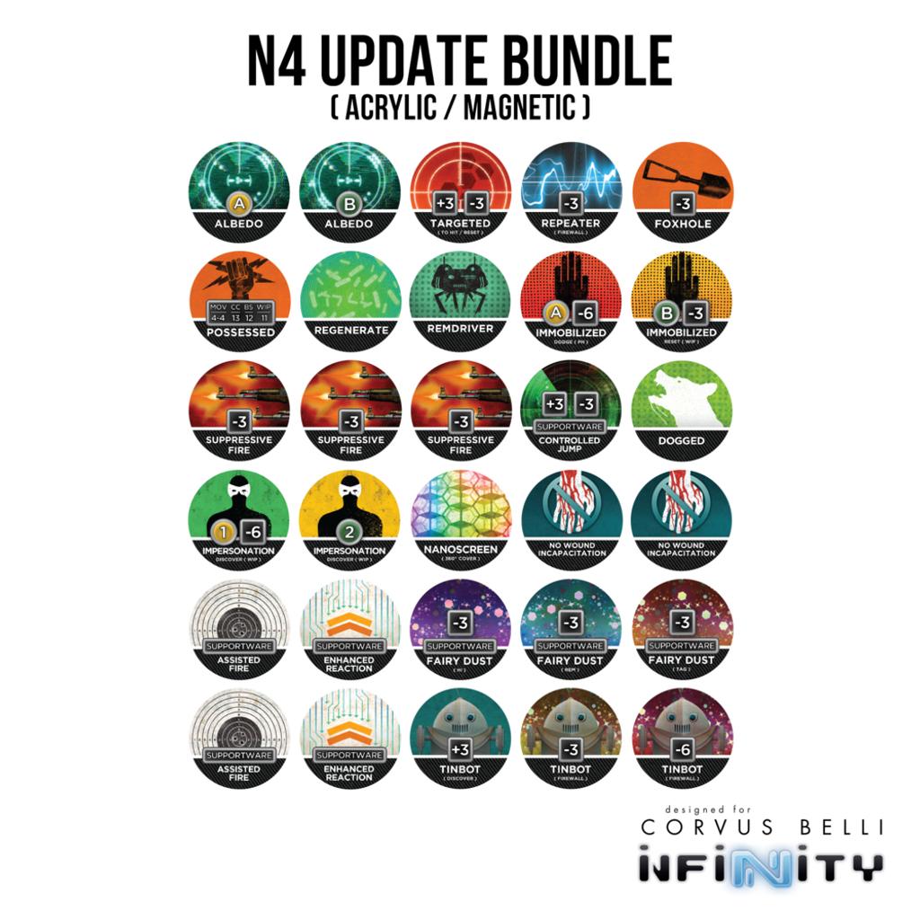 Warsenal - N4 Update Bundle - Acrylic