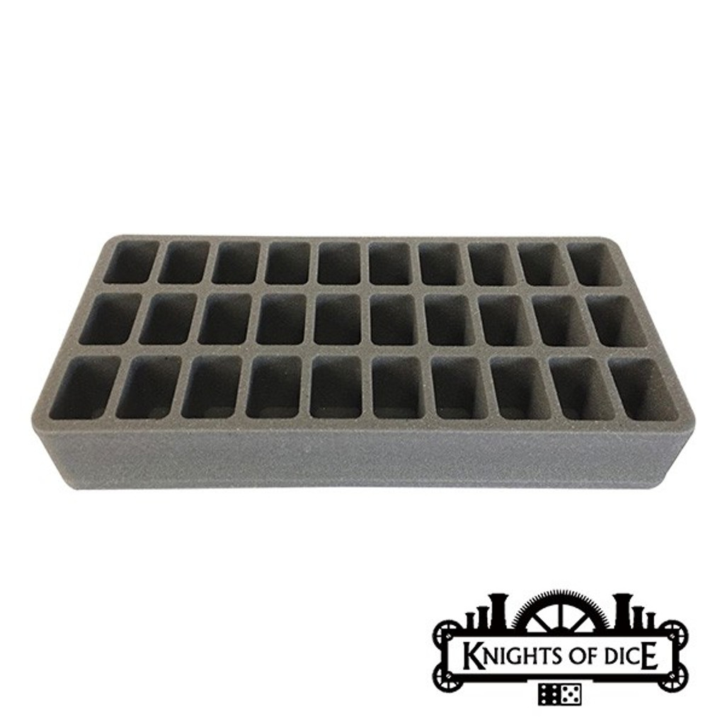 Knights of Dice: Strike-30 foam tray 50mm