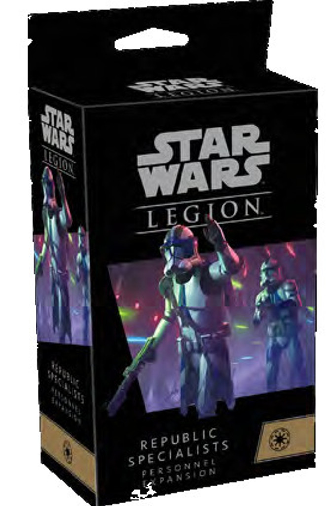 Star Wars Legion Republic Specialists Personnel Expansion