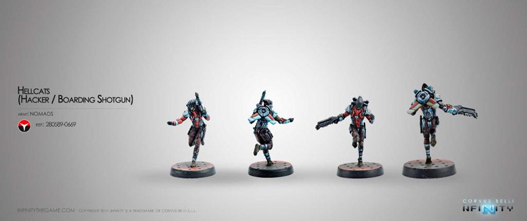 Hellcats (Hacker + Boarding Shotgun)