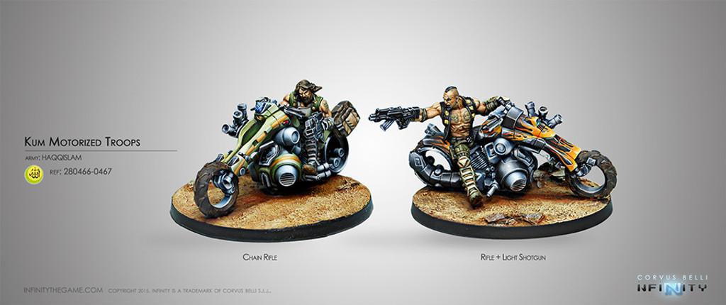 Kum Motorized Troops