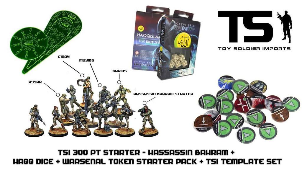 TSI 300pt Starter - Hassassin Bahram with Infinity Essentials