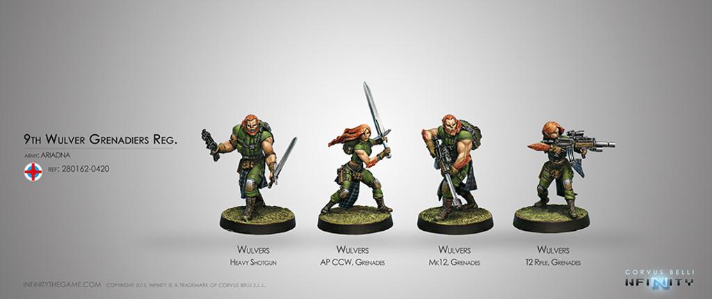 9th Wulver Grenadiers Regiment
