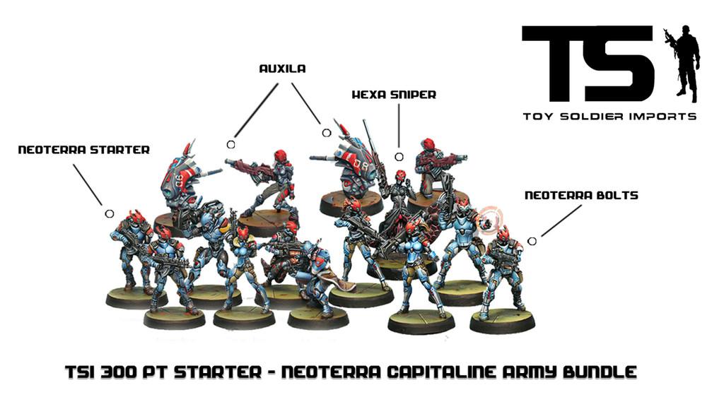 TSI 300pt Starter - Neoterran Capitaline Army