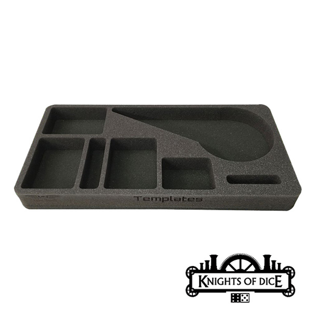 Knights of Dice Infinity Template Tray