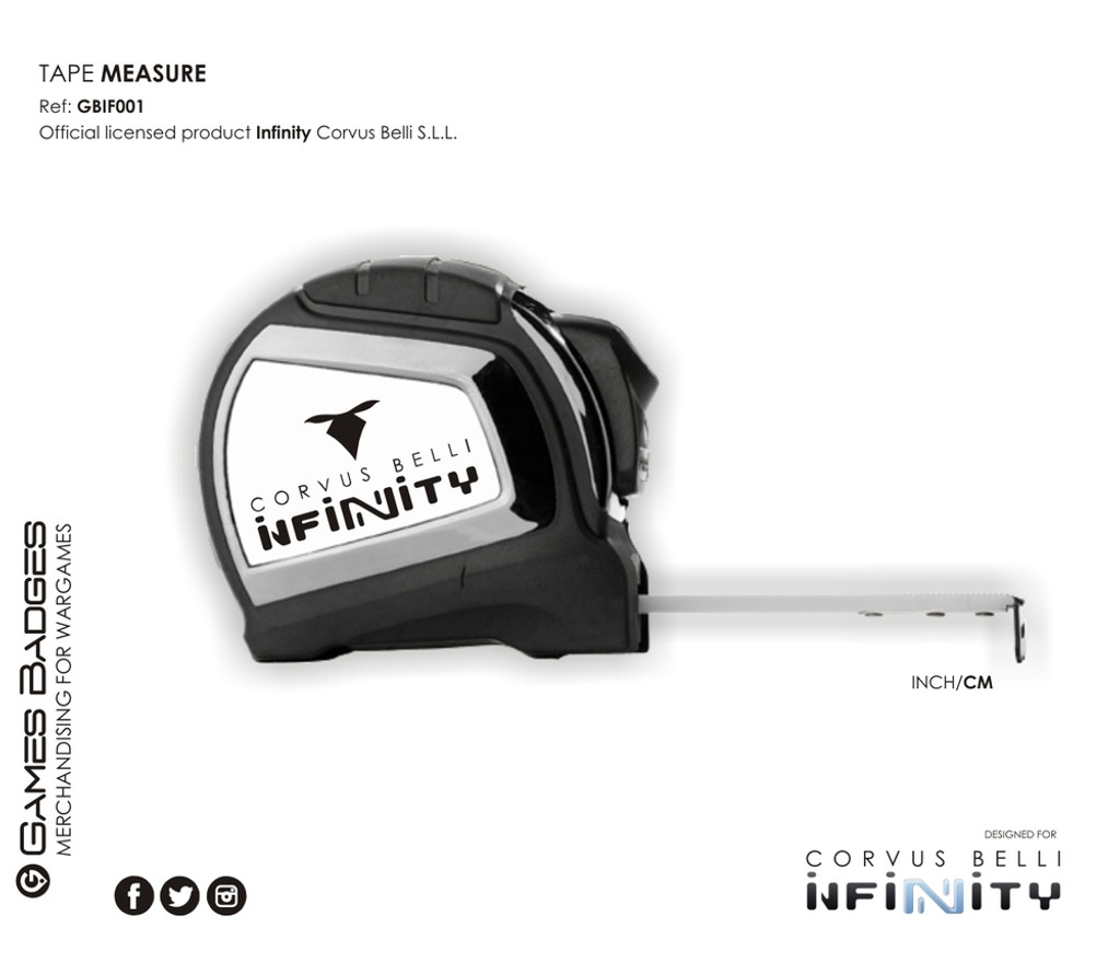 INFINITY TAPE MEASURE