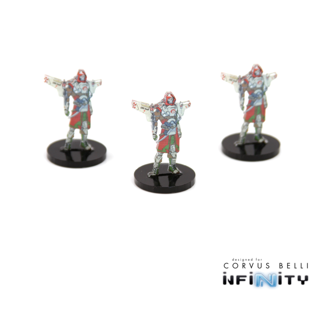 Warsenal - Full Color Holoecho Markers 25mm (3)