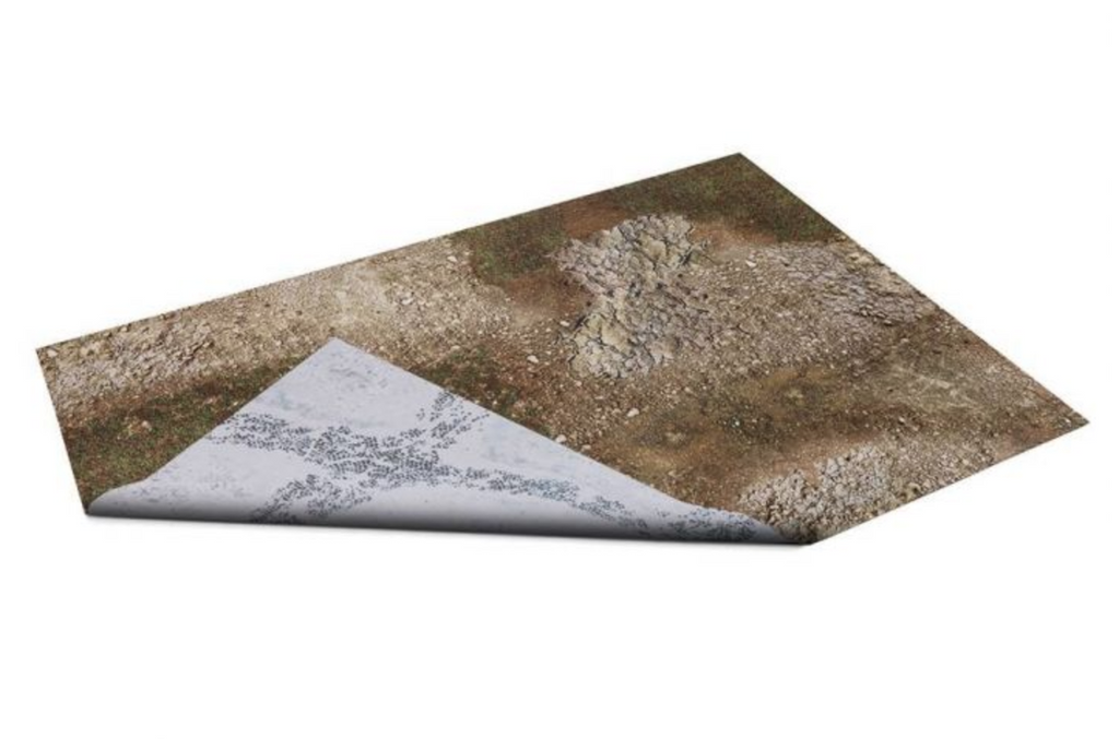 "GameMat War Game Mat - Double Sided: Battleground & Winter Realm 48""x48"""