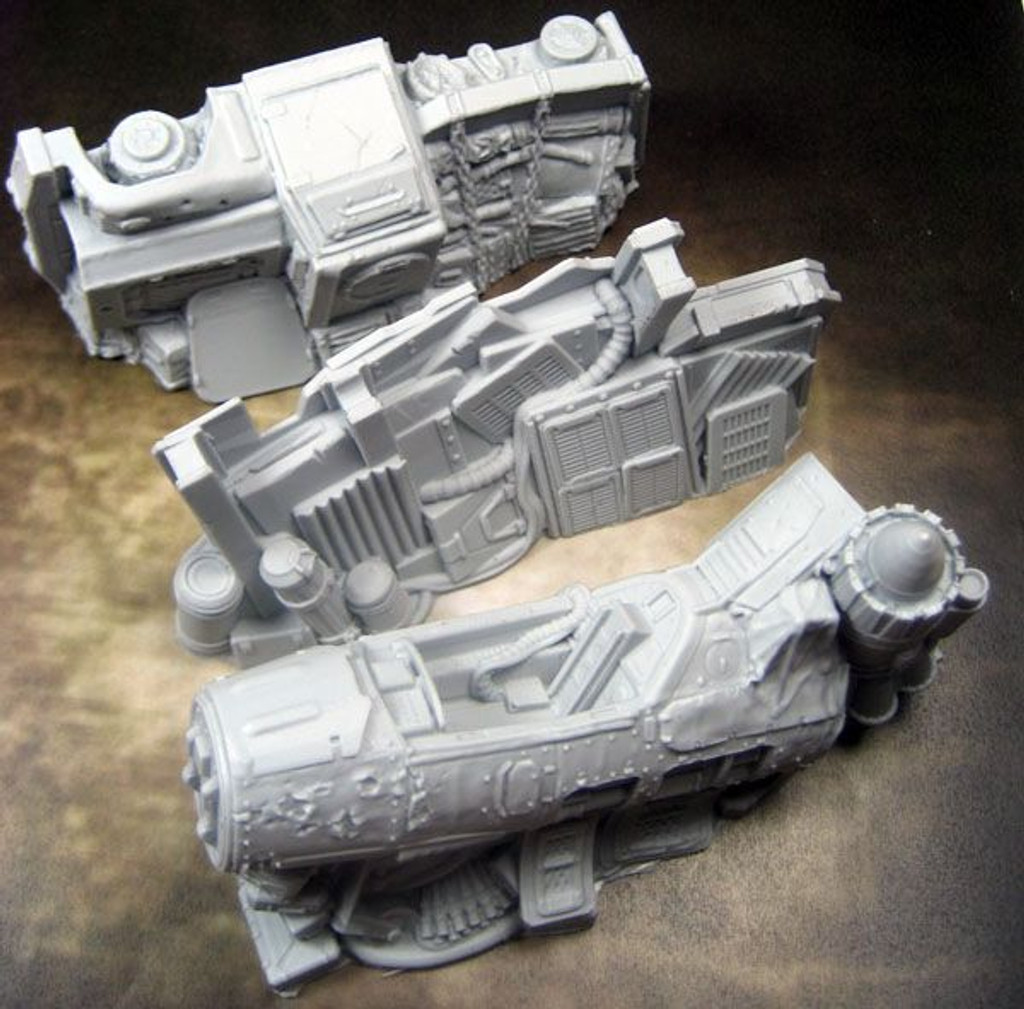 Secret Weapon: TERRAIN: SCRAP YARD - BARRICADES