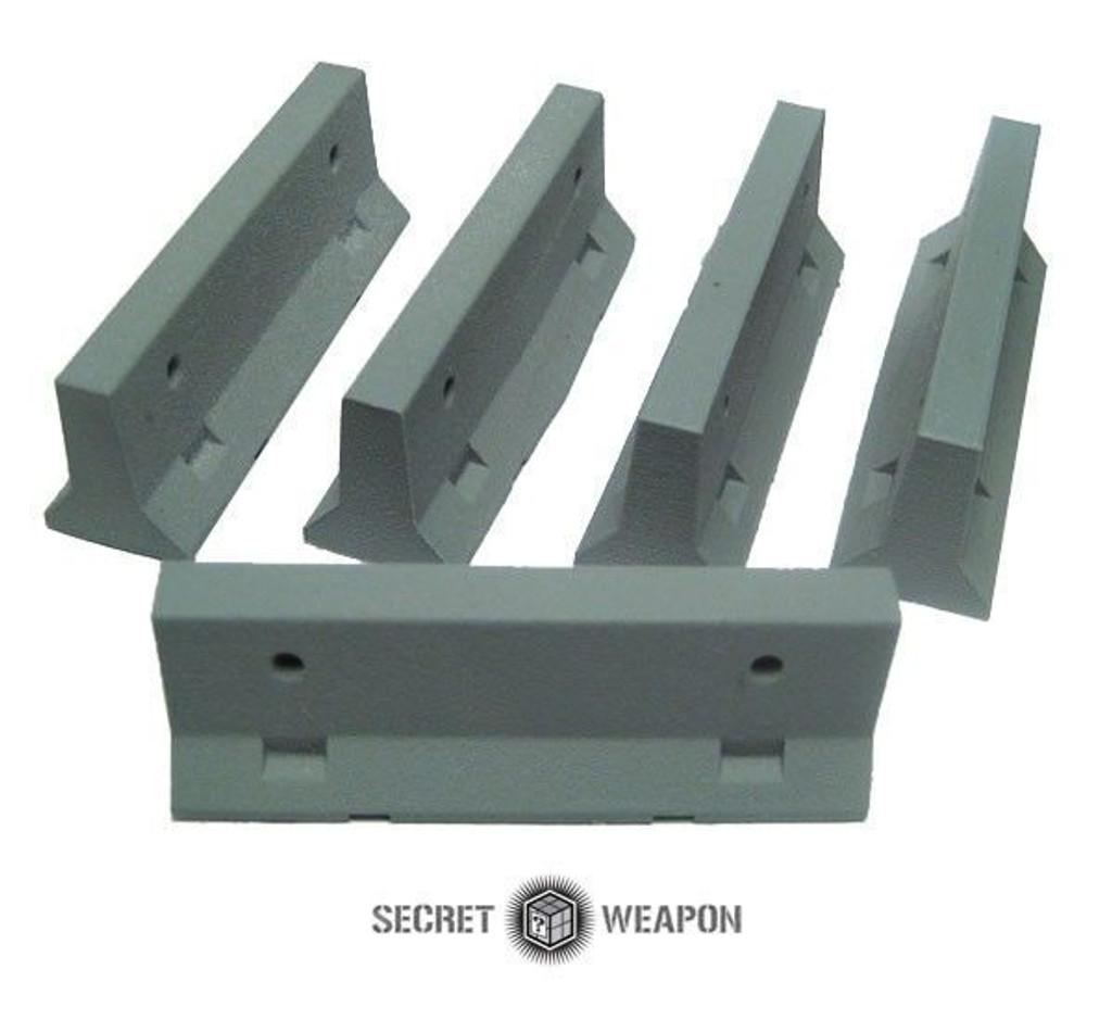 Secret Weapon: TERRAIN: JERSEY BARRIERS - SET OF 5